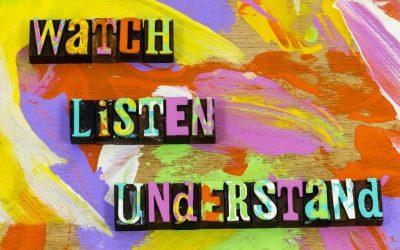 De kracht van een woord zit in het luisteren